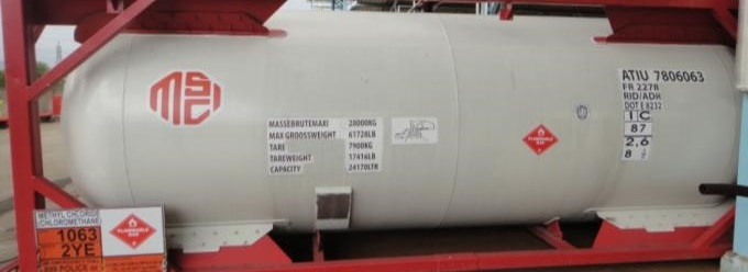 ISO Container 18 mt